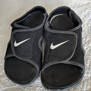 Nike sandals, boy's size 12